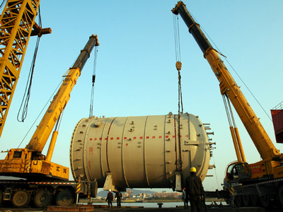 [图]宁波工程完成珠海BP三期PTA项目设备制造