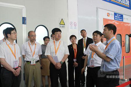 PPG工业第六次协办中国中等职业学校汽车运用与维修技能大赛