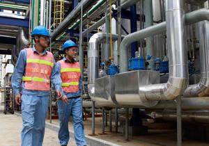 上海石化渣油加氫裝置低分氣幹燥係統投用