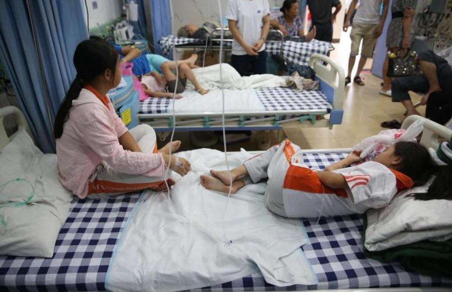 广东化工厂气体泄漏 邻近学校58名师生住院