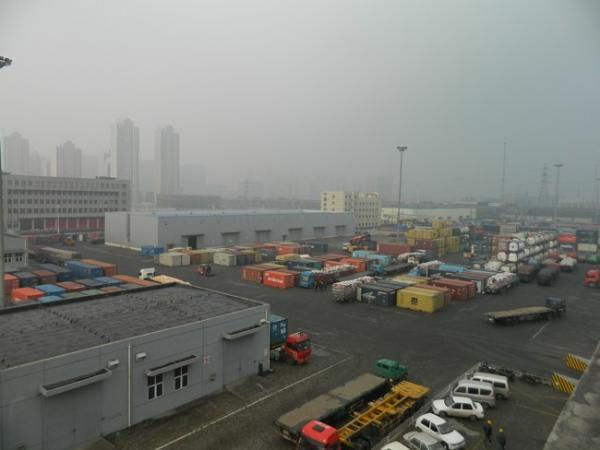 此次事故事发地位于瑞海公司危险品物流仓库。该公司网站上显示的仓库厂区图。