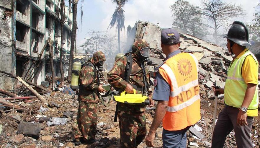 [图]印度化工厂发生爆炸