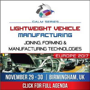 全球汽车轻量化材料(GALM)系列会议:接合、成型及制造技术欧洲峰会