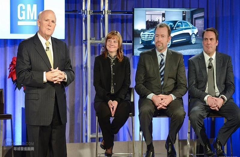 图通用汽车明年迎来首任女性CEO 另设总裁职