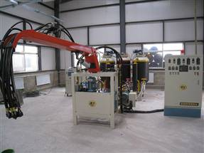 蓬莱飞腾FT100型聚氨酯高压发泡机