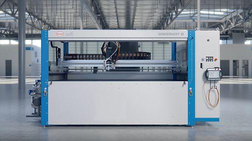 Sonderhoff推出新型紧凑型给料设备3E,用于胶粘剂领域